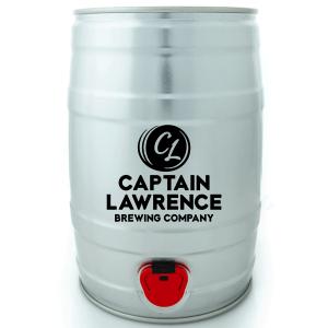 captain lawrence mini keg